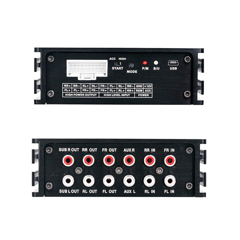 Voiture Audio modifié graphique égaliseur EQ 31 bandes voiture Audio stéréo Tuner numérique son processeur avec 300 w * 4 ampl voiture accessoires - 4