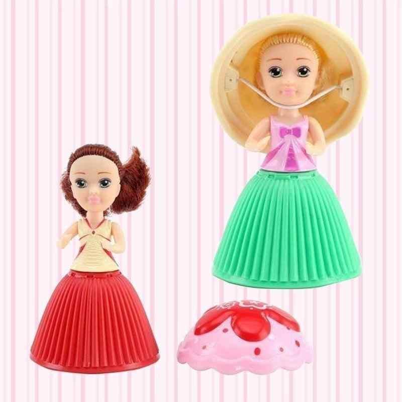 Cupcake bambola 1 pc bambini della casa del gioco mini pasticceria del giocattolo della principessa delle ragazze Profumato Bella Sveglio Della Torta regalo