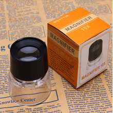 FGHGF 17136 Cylindrical 10x Eye Mask Magnifying Glass Portable Jewelry Identification Reading Magnifier стоимость