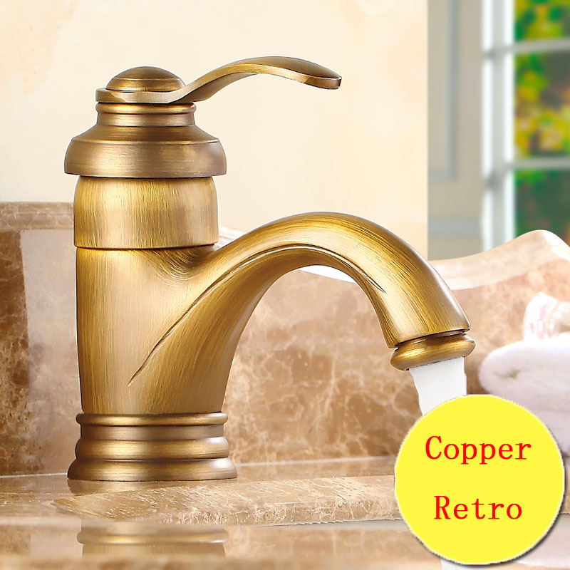 Retro teapot style toilet basin faucet vintage, Copper bathroom basin faucet hot and cold, Antique brass kitchen basin faucet phasat 4411 retro style copper triangle valve antique brass