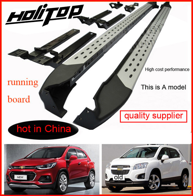 цена running board side step nerf bar for Chevrolet TRAX,Top 10 side step in China,high cost performance, cost price for promotion