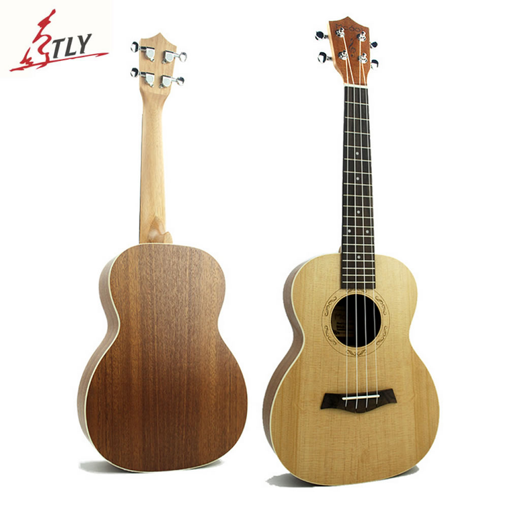 Mcool 26 inch Tenor Ukelele Rosewood Fingerboard Spruce Panel Sapele Backplate 4 Strings Hawaii Mini Guitar Ukulele Uke hlby good deal 17 mini ukelele ukulele spruce sapele top rosewood fretboard stringed instrument 4 strings with gig bag 2