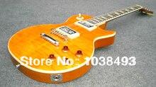E-gitarre makers machen die beste qualität gelb wasser welligkeit LP können anpassen die Ems-freies Verschiffen