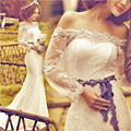 Princess bride 2017 slit neckline train wedding dress lace slim waist straps slim fish tail wedding dress