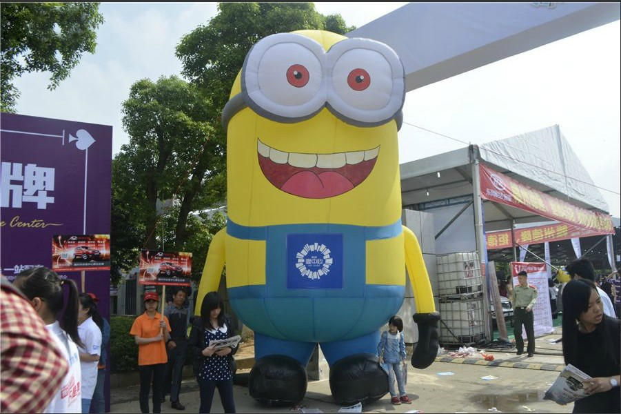 Inflatable minion (2)