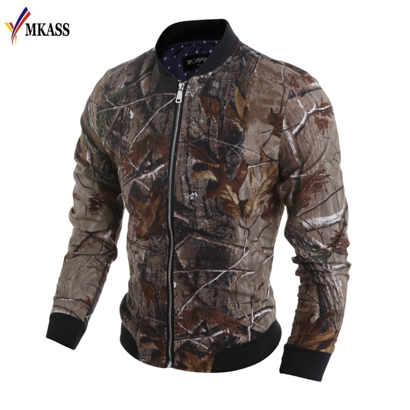 New Men Jungler 3D Printing Jacket Casual Male Coat Camouflage Jaqueta Masculina Veste Overcoat Homme Brand Clothing Outwear image