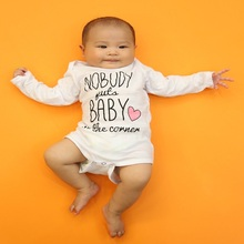 Baby Clothes 2016 Newborn baby boys girls clothes Jumpsuit Long Sleeve Infant Product Print O-Neck Romper