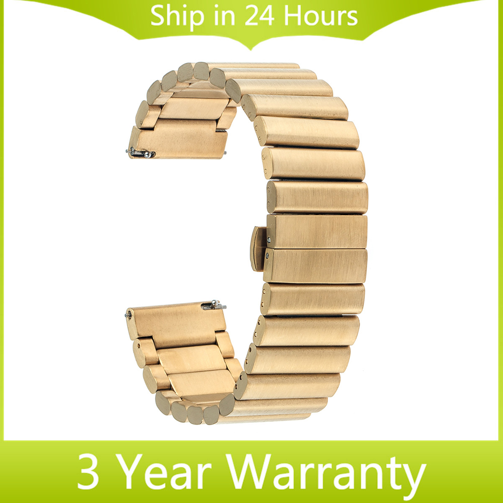 20mm Stainless Steel Watch Band for Moto 360 2 42mm 2015 Samsung Gear S2 Classic R7320