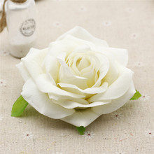 9CM large Roses fake flowers Head Wedding car Decoration artificial flowers Pink Red White champagne Flowers Roses 1PCS рюкзак red roses img564 2015 pu