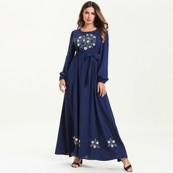 950cc95b18 Abayas para las mujeres Kaftan Abaya vestido Dubai Turquía Hijab musulmán  vestido turco ropa islámica Jilbab Eid caftán Ramadán Elbise