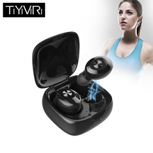 Bluetooth Headphone Wireless Earphone Sport Handsfree Earbuds 3D Stereo Gaming Headset With Mic Charging Box цена