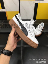 New Arrival PUMA Fenty by Rihanna Cleated Creeper Suede Sneakers Women's Badminton shoes Size 35.5-40