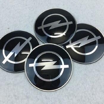 Car Styling 4Pcs Wheel Center Hub Cap Stickers 65mm emblems for Opel astra opel astra h astra g insignia Opel mokka car фото