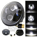 "5.75"" Motorcycle LED Front Round Headlight Daymaker Projector HID High Low Driving Lamp for Harley VRSCD FXSTS XG XL XR FXS"