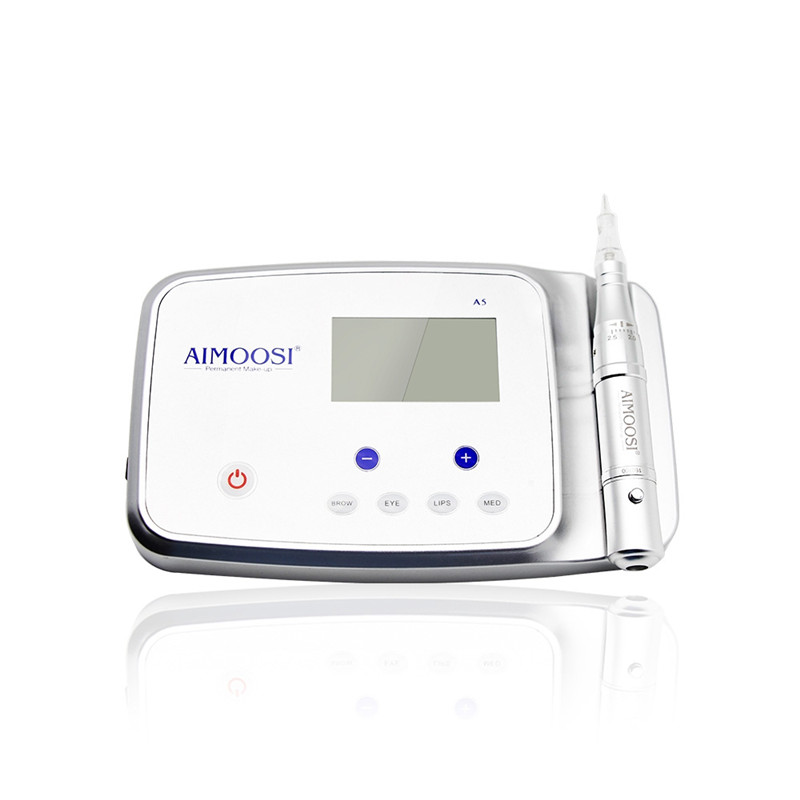 Aimoosi A5 Intelligent Permanent Makeup device&digital Machine Kit with Tattoo Gun,Control panel and Needles For Eyebrow&LipsAimoosi A5 Intelligent Permanent Makeup device&digital Machine Kit with Tattoo Gun,Control panel and Needles For Eyebrow&Lips