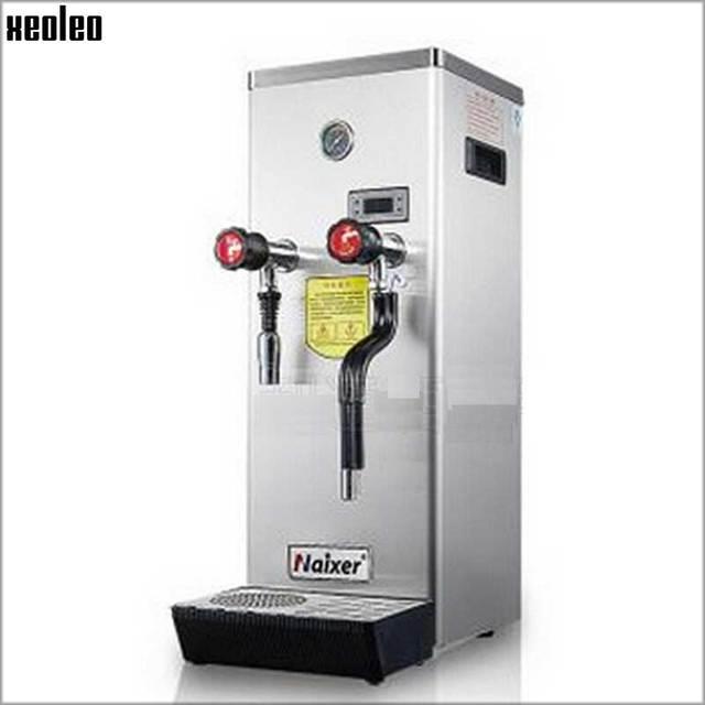Xeoleo Commercial Steam Water Boiler Stainless Steel Teapresso ...
