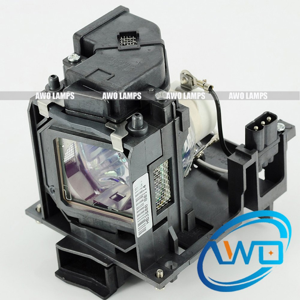 AWO Replacement Lamp ET-LAC100 Quality with Housing for PANASONIC PT-CW230/ PT-CX200 pt ae1000 pt ae2000 pt ae3000 projector lamp bulb et lae1000 for panasonic high quality totally new