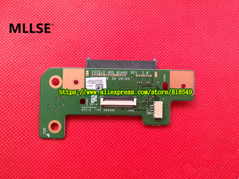 Original Part X555L X555LD HDD hard drive BOARD X555LD HDD BOARD REV:2.0 x555lp hdd board rev 1 1 x555ld hdd board rev 3 3 3 1 3 6 x555ld io board rev 2 0 3d printer board