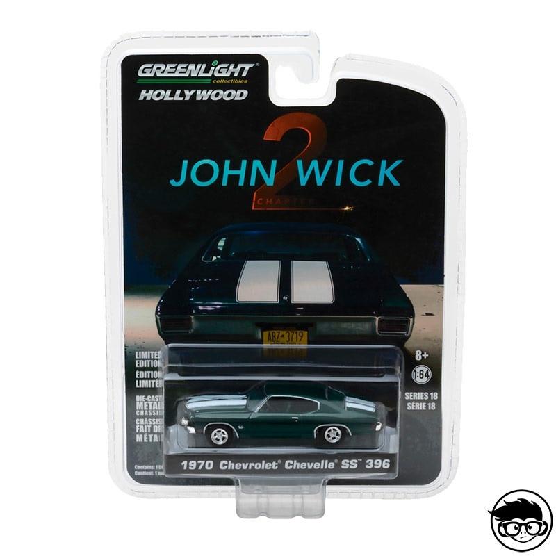 Greenlight Hollywood John Wick 2 1970 Chevrolet Chevelle SS 396 Series 18