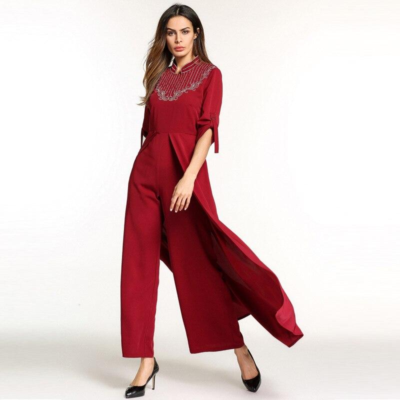 Women Plus Size Clothing 2018 New Style Muslim Dress Pants Long ...
