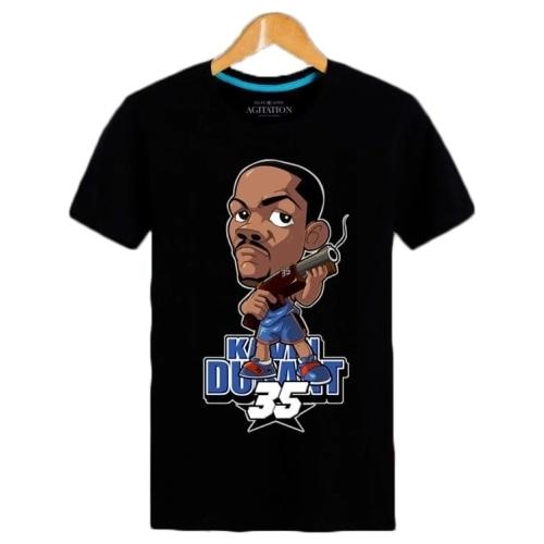 Black head men leisure shirt cartoon characters throwback college  basketball jerseys washington wizards jersey cab394a9a