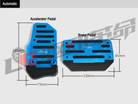Jimny Car Styling JB43 Off Road Car Pedals For Automatic Gearbox|Pedals|Automobiles & Motorcycles -
