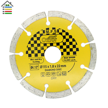 Top Quality Ceramic Tile Cutting Disc 115mm 4.5″ Diamond Angle Grinder Grinding Stone Brick Concrete Dry and Wet 1.8mm Thickness