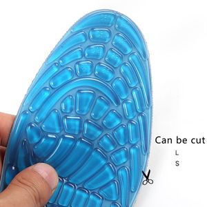 Image 5 - Silica Gel Basketball Running Insoles Summer Breathable Foot Shoe Pad