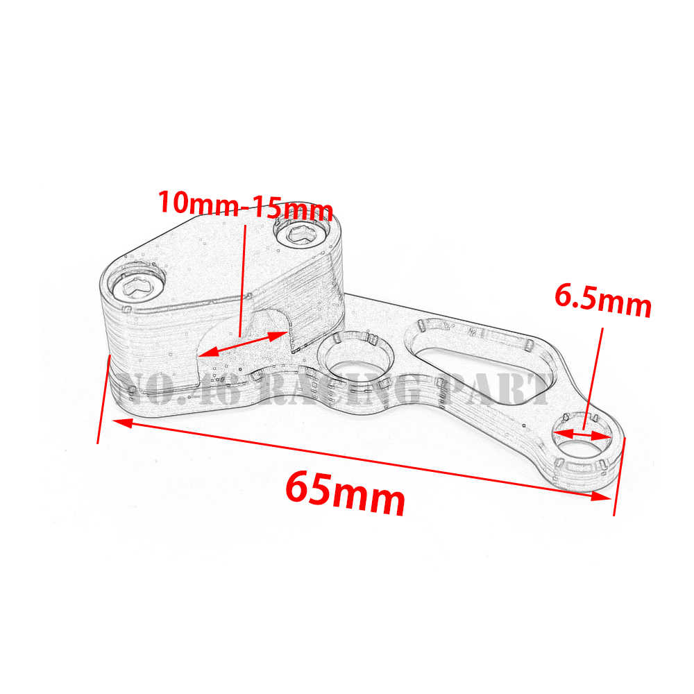 small resolution of  motorcycle brake line clamps for suzuki bandit 400 600 1200 dl650 boulevard m109r drz
