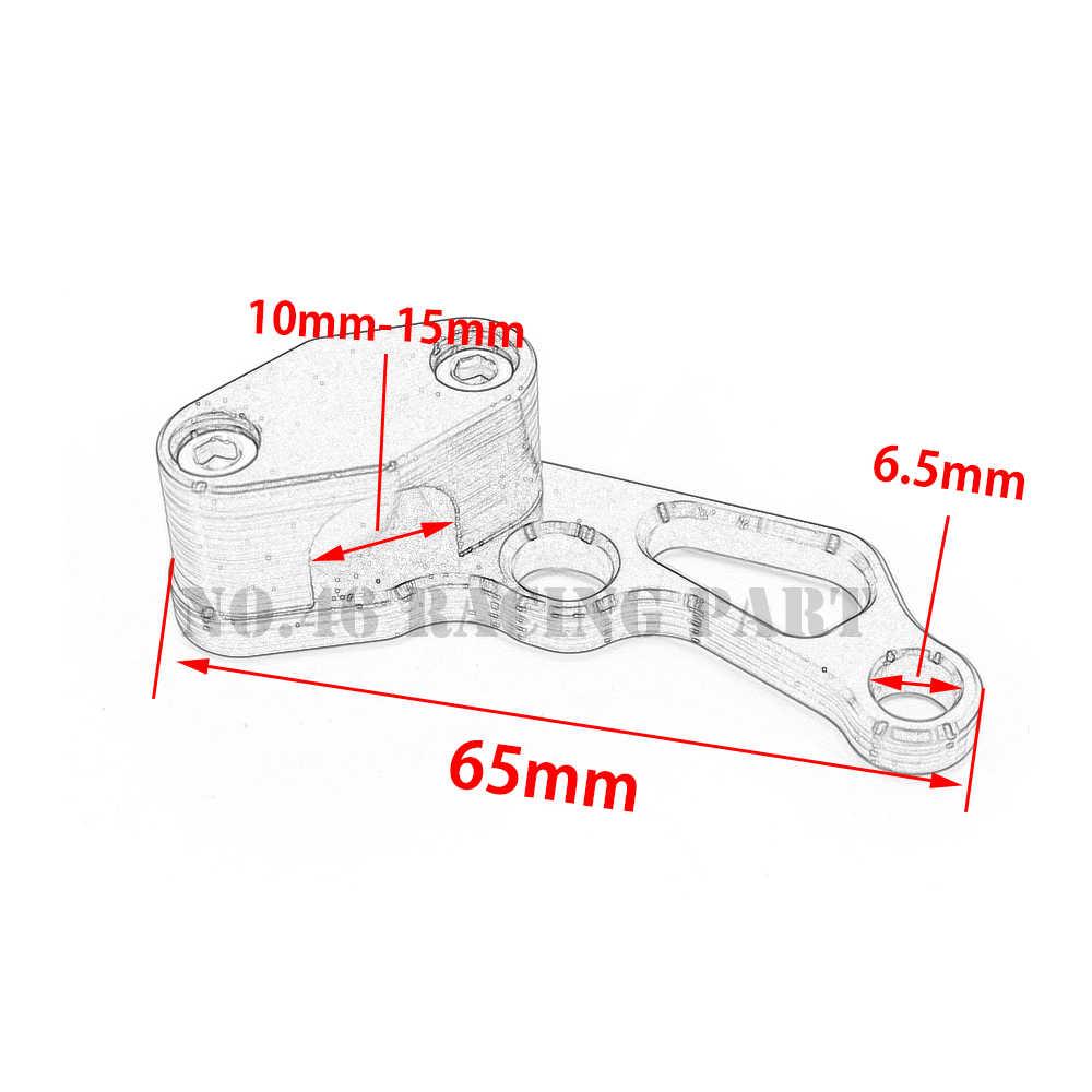 motorcycle brake line clamps for suzuki bandit 400 600 1200 dl650 boulevard m109r drz [ 1000 x 1000 Pixel ]