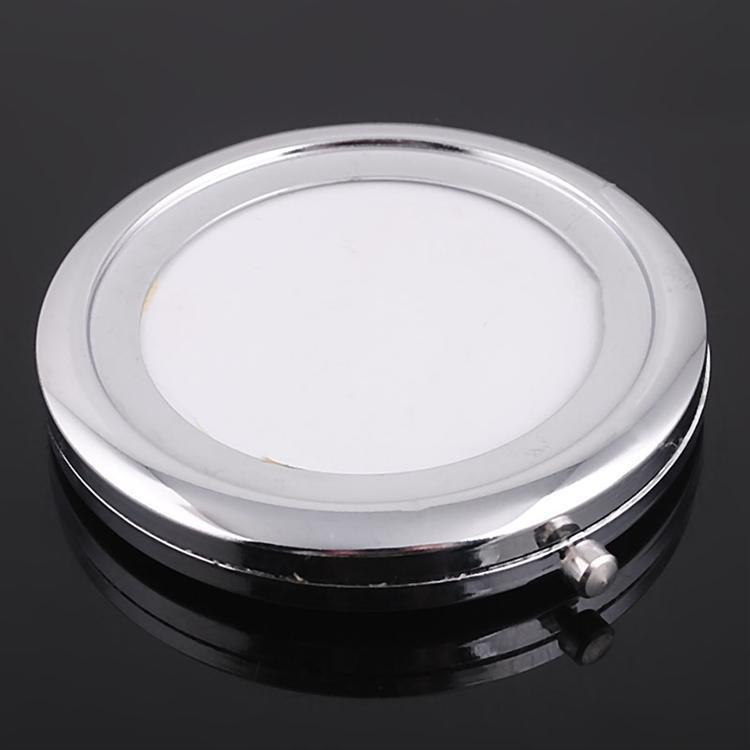 100pcs compact mirror DIY Portable Metal cosmetic silver & copper -DHL free shipping