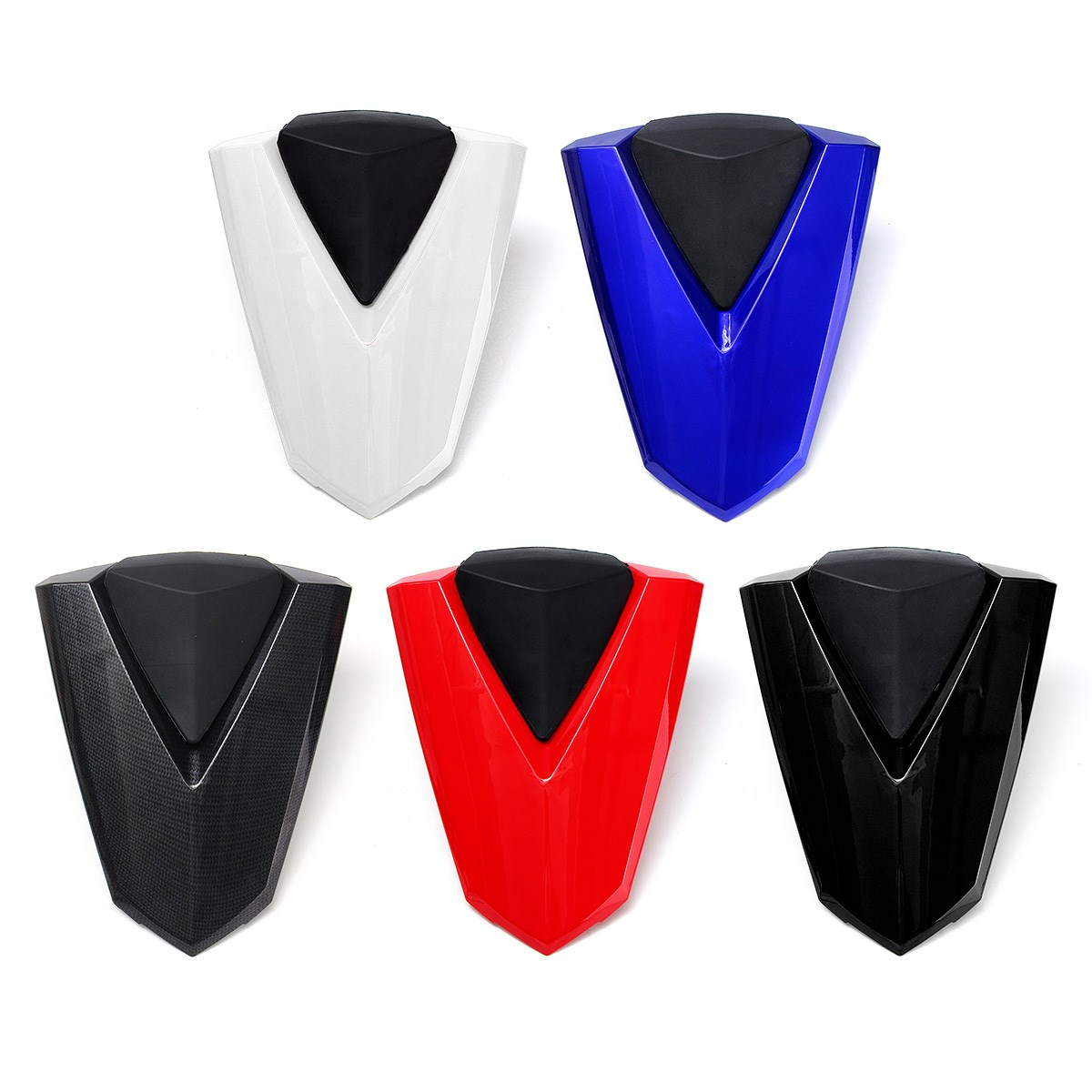Motorcycle Pillion Rear Seat Cover Solo Fairing Cowl For YAMAHA YZF R25 R3 YZF-R3 2013-2016 Black/Red/White/Blue/Carbon Fiber waase motorcycle rear back drive chain guard mud cover panel shield fairing cowl protector for yamaha yzf r3 r25 mt 03 mt 25