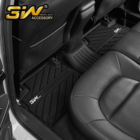 Car floor mats For RX5 with 3w Customized Special tpe mat,black