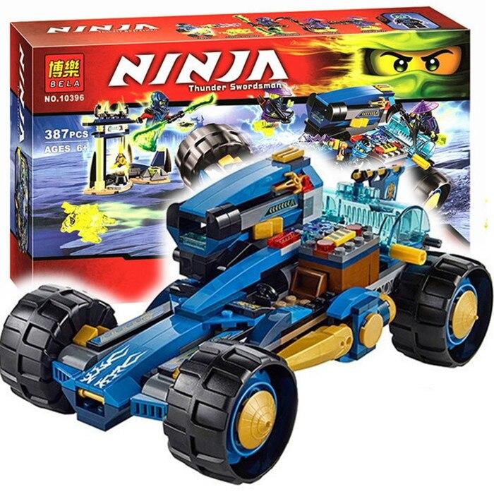Bela Ninjagoes Jay Walker One Building Block Set Bansha Ghurka Wail Minifigures Toy legoe 70731 Compatible