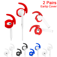 New Arrival Hot Sale 1Pair Earphone Case For EarPods Replacement Soft Silicone Anti Slip Ear Hook Earbuds Tips For Apple AirPods