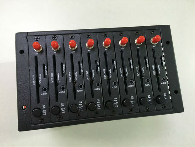 SIERRA SL6087 Modem Pool 8 Ports Recharge system USSD STK Quadband for Bulk sms modem