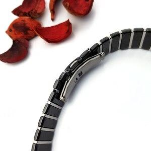 Image 3 - 20mm 29mm 32mm Ceramic Watch Band Wristwatch for Rado Sintra Series Strap Brand Watchband Man Woman Black