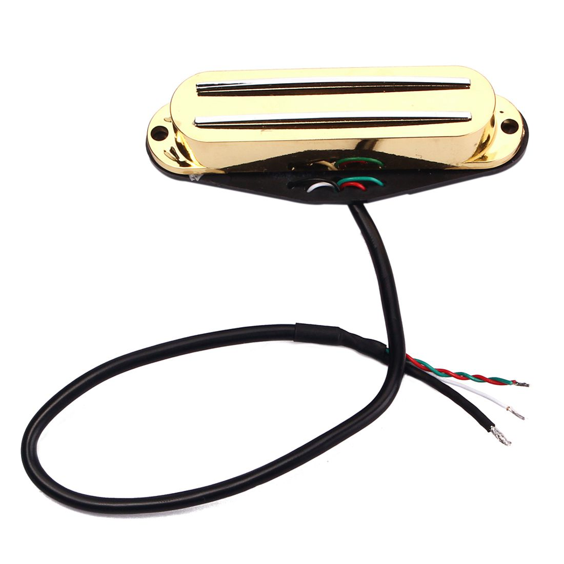 HOT-Fastmusic Belcat Guitar Hot Rails Pickup for ST Parts Ferrite Mini Humbucker hot parts