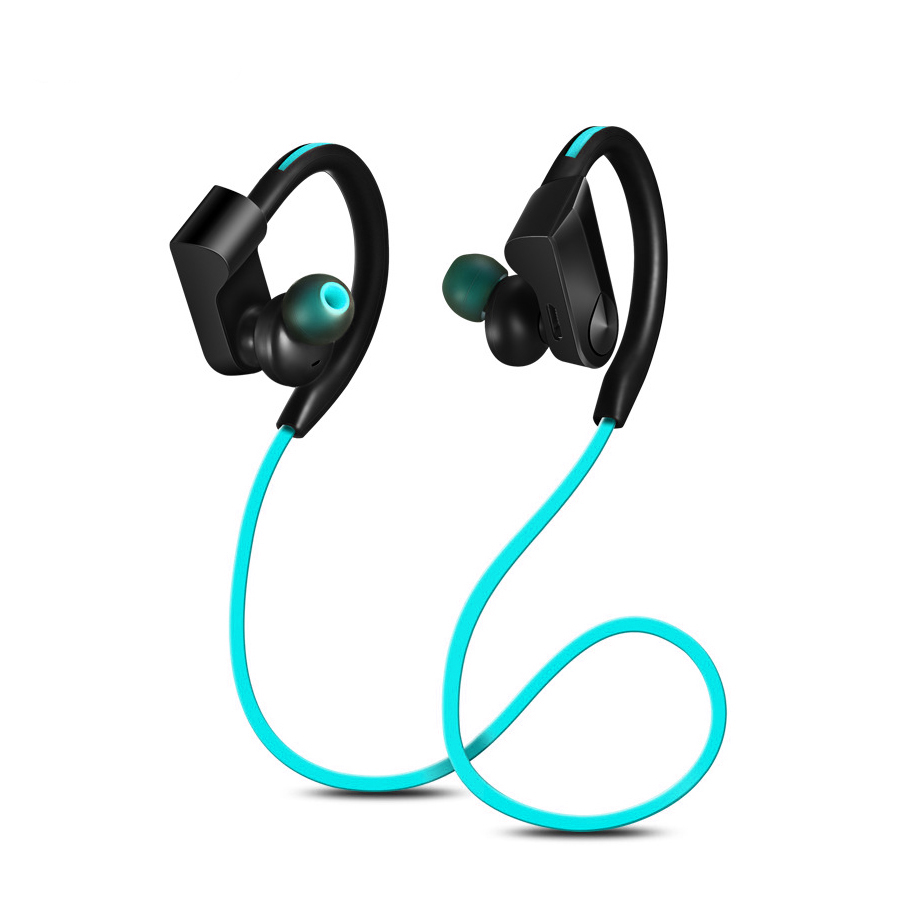 k98 bluetooth headphones wireless in ear noise reduction earphone with microphone sweatproof. Black Bedroom Furniture Sets. Home Design Ideas