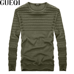 Queqi men warm casual sweaters size m 2xl classic solid colors autumn winter man pullover knitted.jpg 250x250