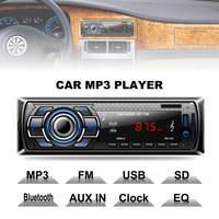 1 DIN Voiture Radio Lecteur Bluetooth Stéréo FM MP3 Audio Chargeur USB SD AUX Auto Electronics