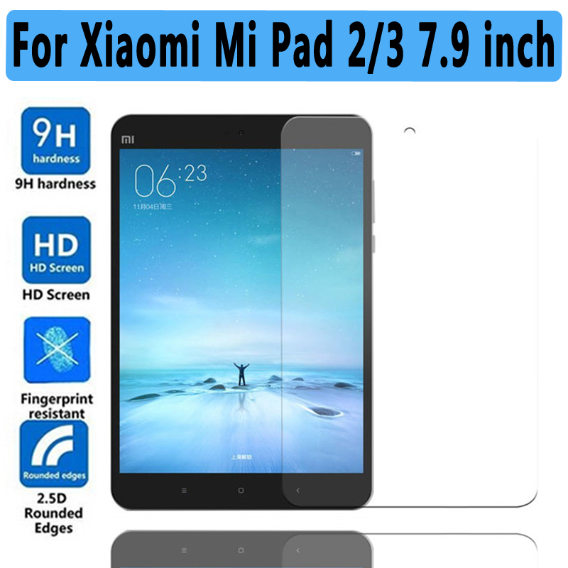 Ultra Thin HD Clear Explosion-proof Tempered Glass for Xiaomi MiPad 2 3 Screen Protector Guard Film for Xiaomi Mi Pad 3 2