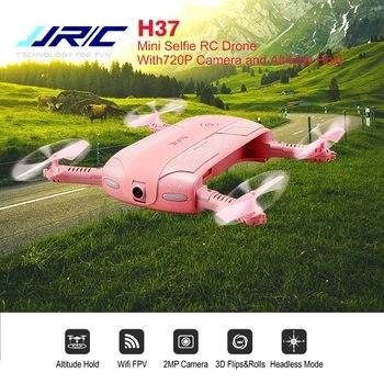 JJRC RC H37 Elfie Mini Selfie Folding Fixed Height Drone FPV 2MP HD Camera Headless APP Control Gravity Sensing Quadcopter