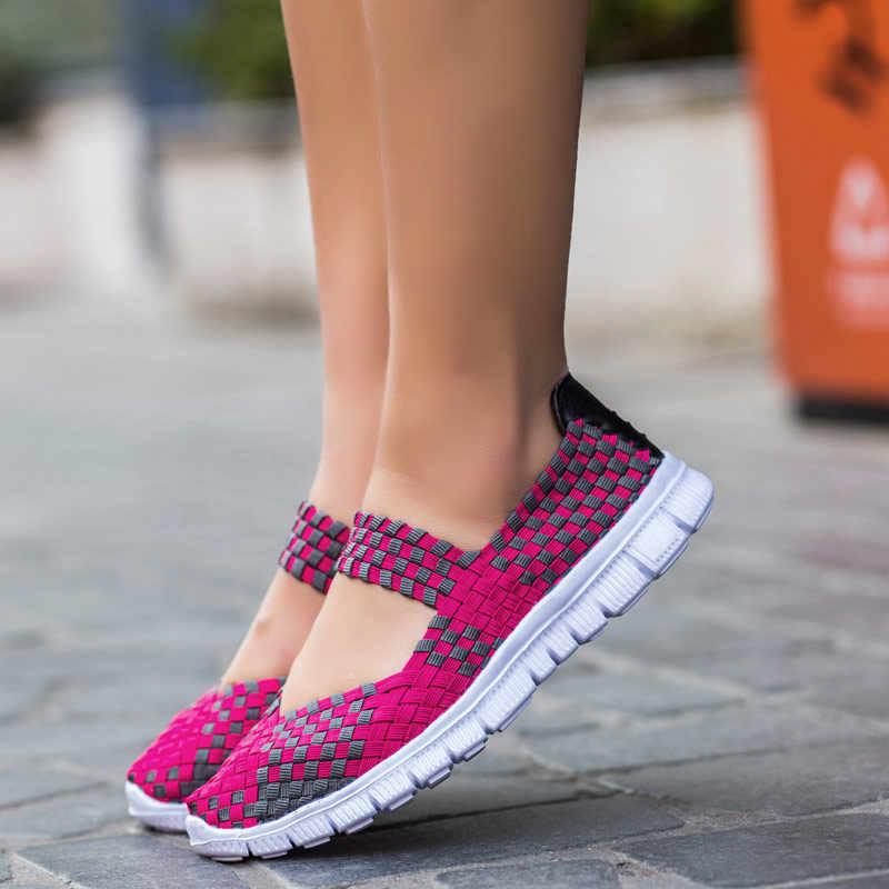 여성 스 니 커 즈 2020 새로운 패션 통기성 캐주얼 신발 여성 편안한 플랫 스 니 커 즈 여성 신발 zapatos 드 mujer