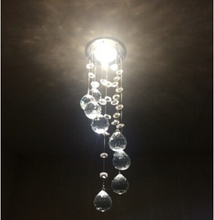 Hanging Crystal Lights