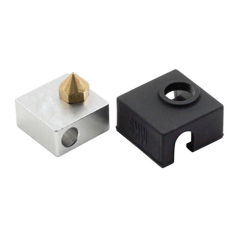 שימושי סיליקון חם סוף שרוול כיסוי עבור Creality CR-10 CR-10S S5/אנדר 2/3/4/5 פרו