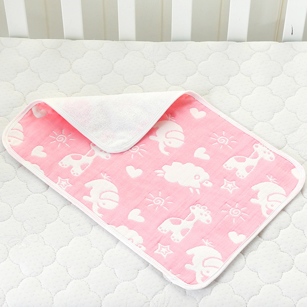 Cover Soft Washable Mattress Cushion Travel Pad Diaper Changing Mat Reusable Waterproof Infants Nappy Floor Baby Portable