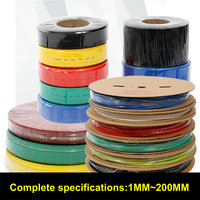3 5MM 200Meters Set Heat Shrink Tubing Tube Sleeving Wrap Wire Cable