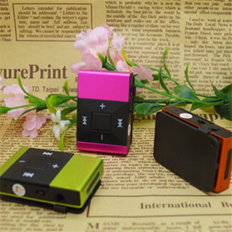 1 Stück Mini Usb Clip Digital Mp3 Musik-player Unterstützung 8 Gb Sd Tf Karte Slick Stilvolle Design Sport Compact Mp3 Player