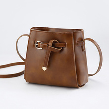 Women Messenger Crossbody Bags PU Leather Lady Girl Casual Shoulder Bag Popular
